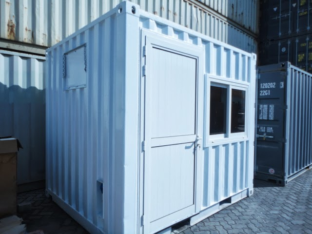 10ft Office, Security Container