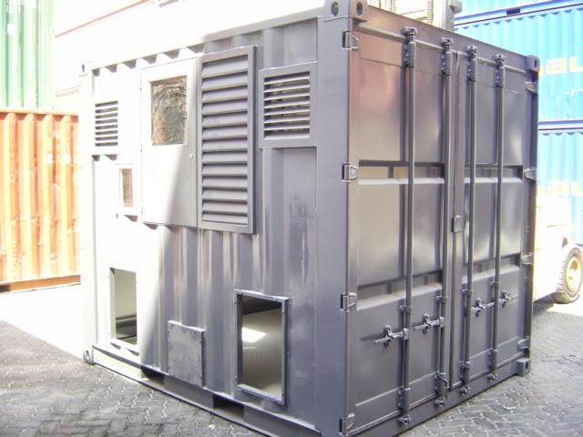 10ft Transformer Enclosure