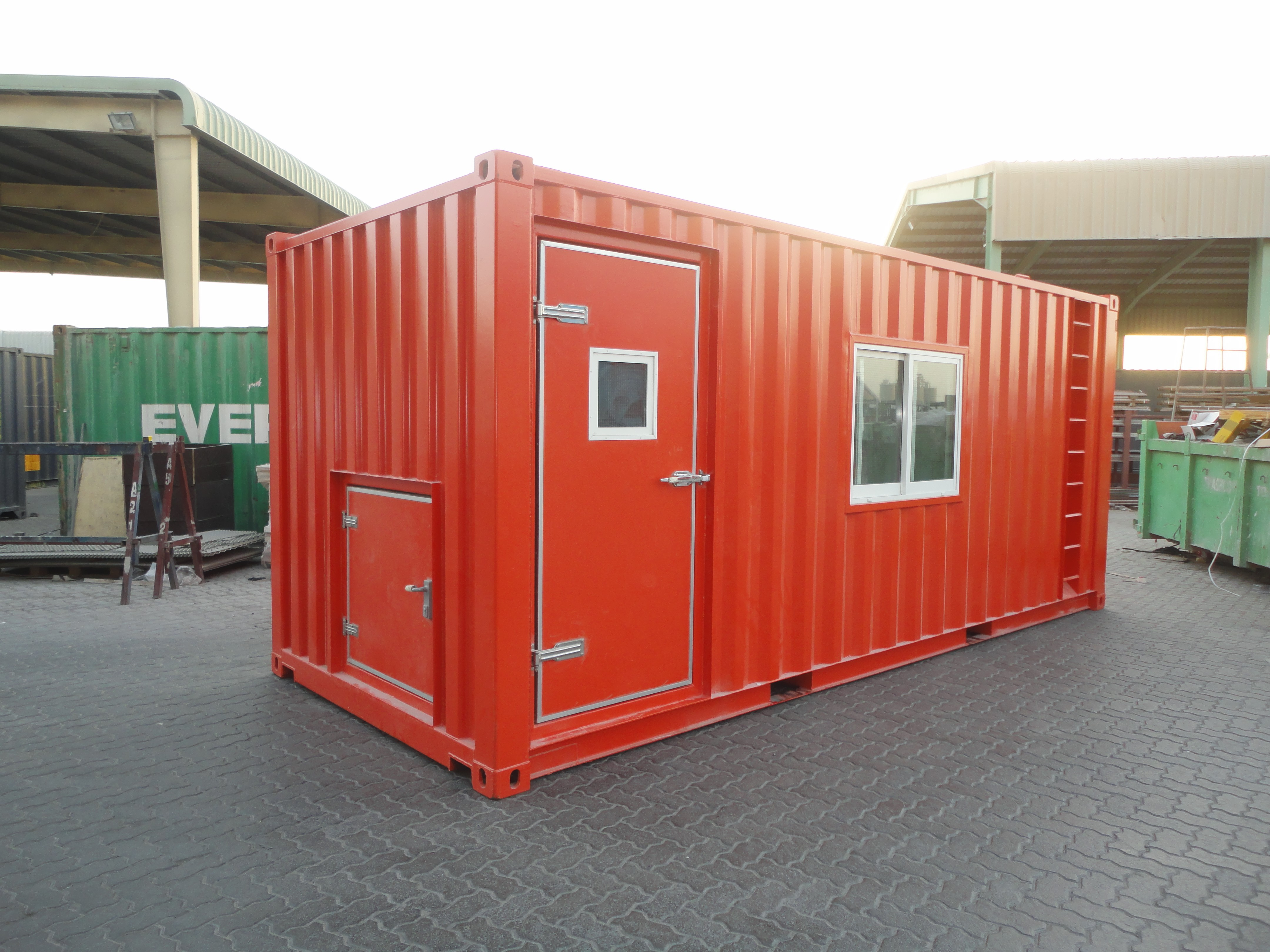 20ft Office Container - Exterior