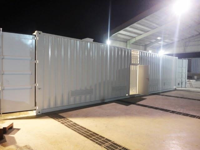 40ft Equipment Enclosure