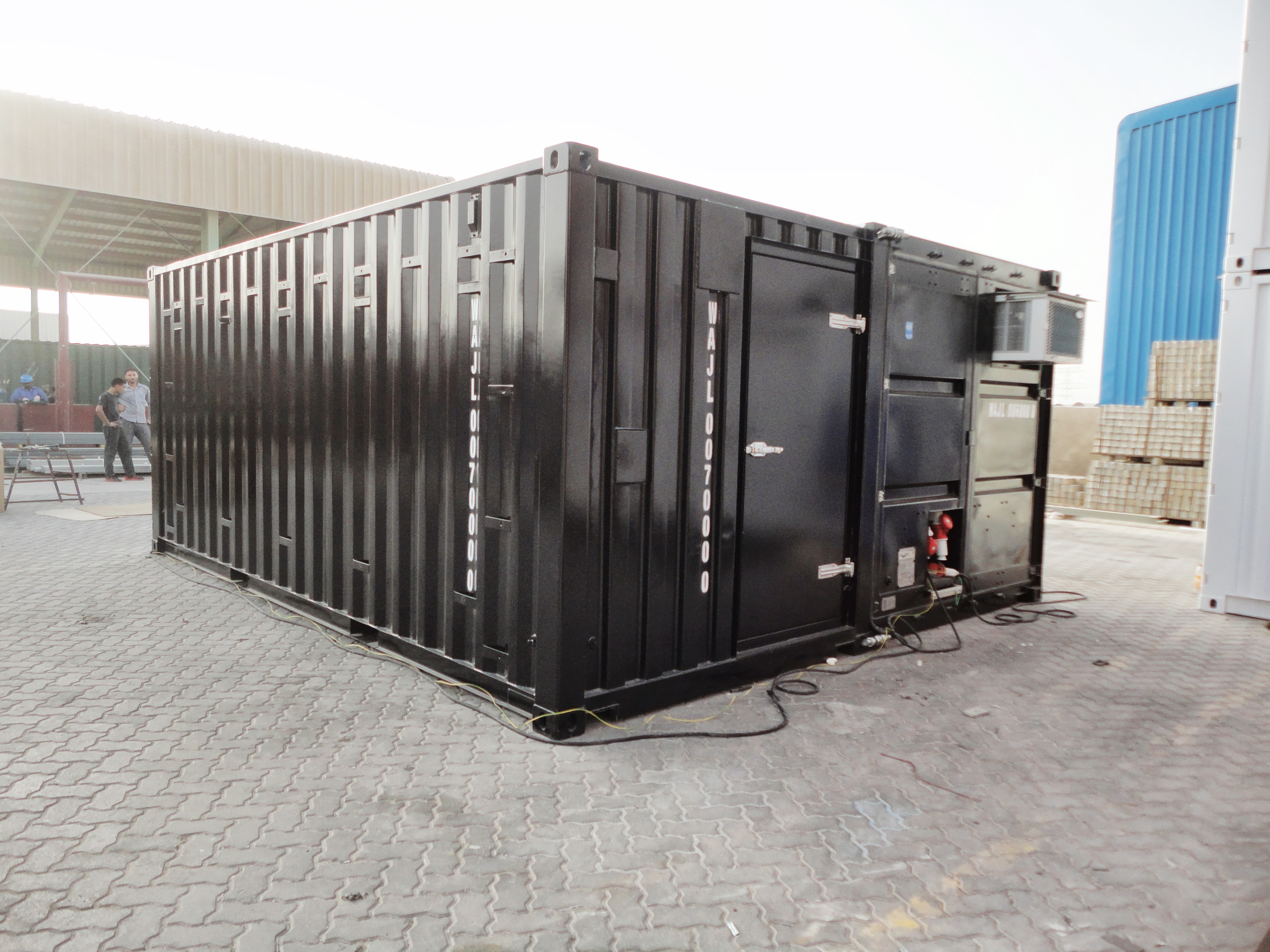Training Cube Container - 20ft Joint_Exterior