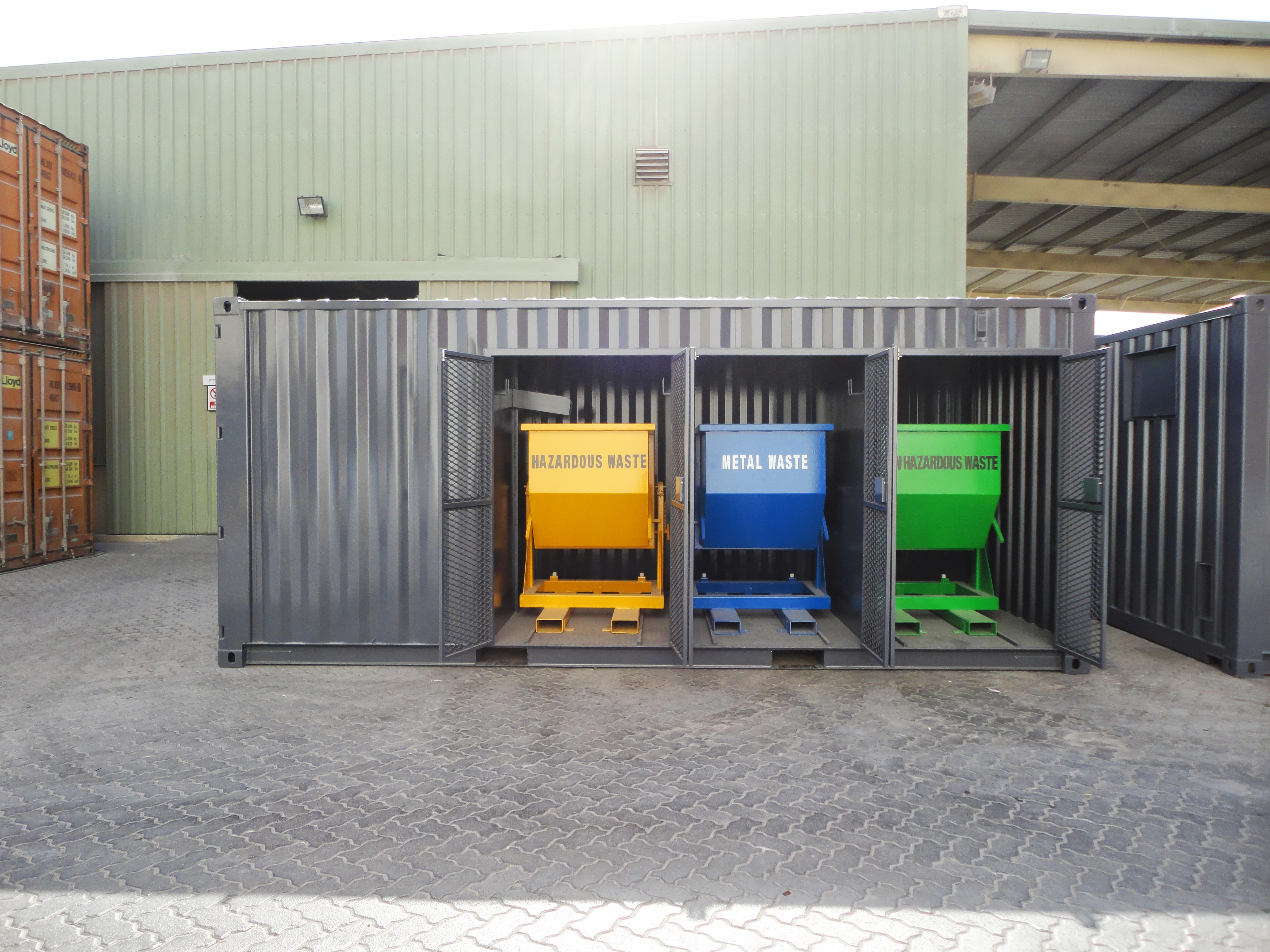 Waste Disposal Container-20ft