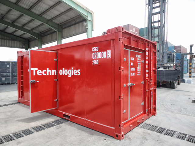 20ft Offshore Workshop Container_Exterior