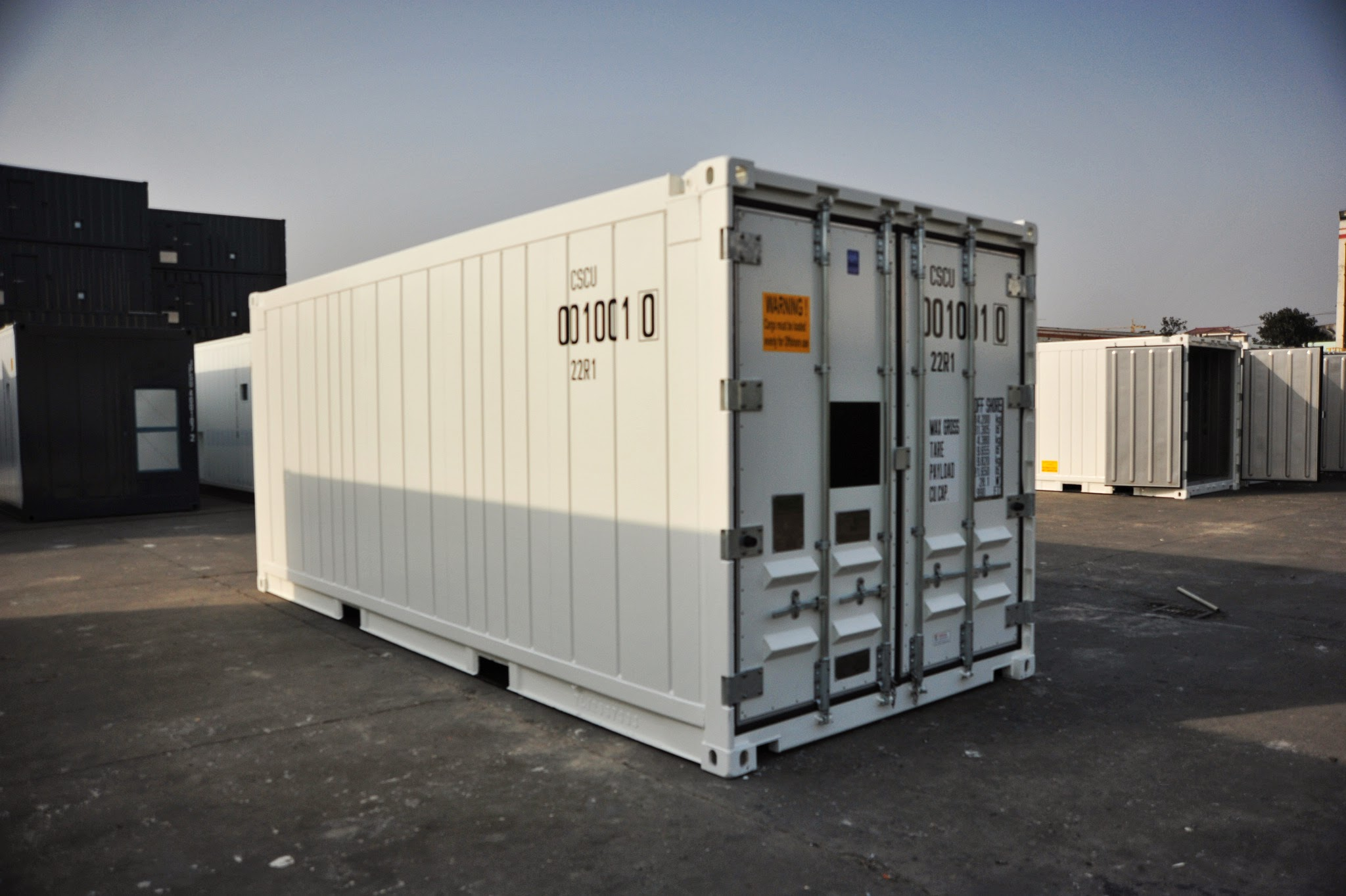 20ft DNV Offshore Reefer Container - Exterior (Door End)