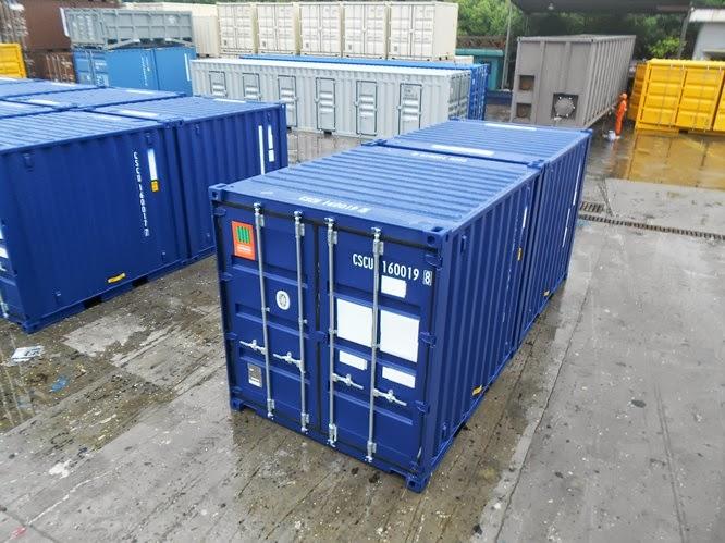 20ft Duocon Container - Exterior