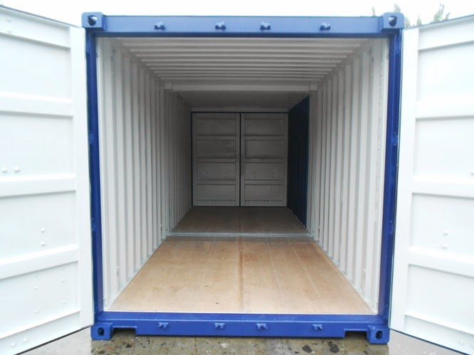 20ft Duocon Container - Interior