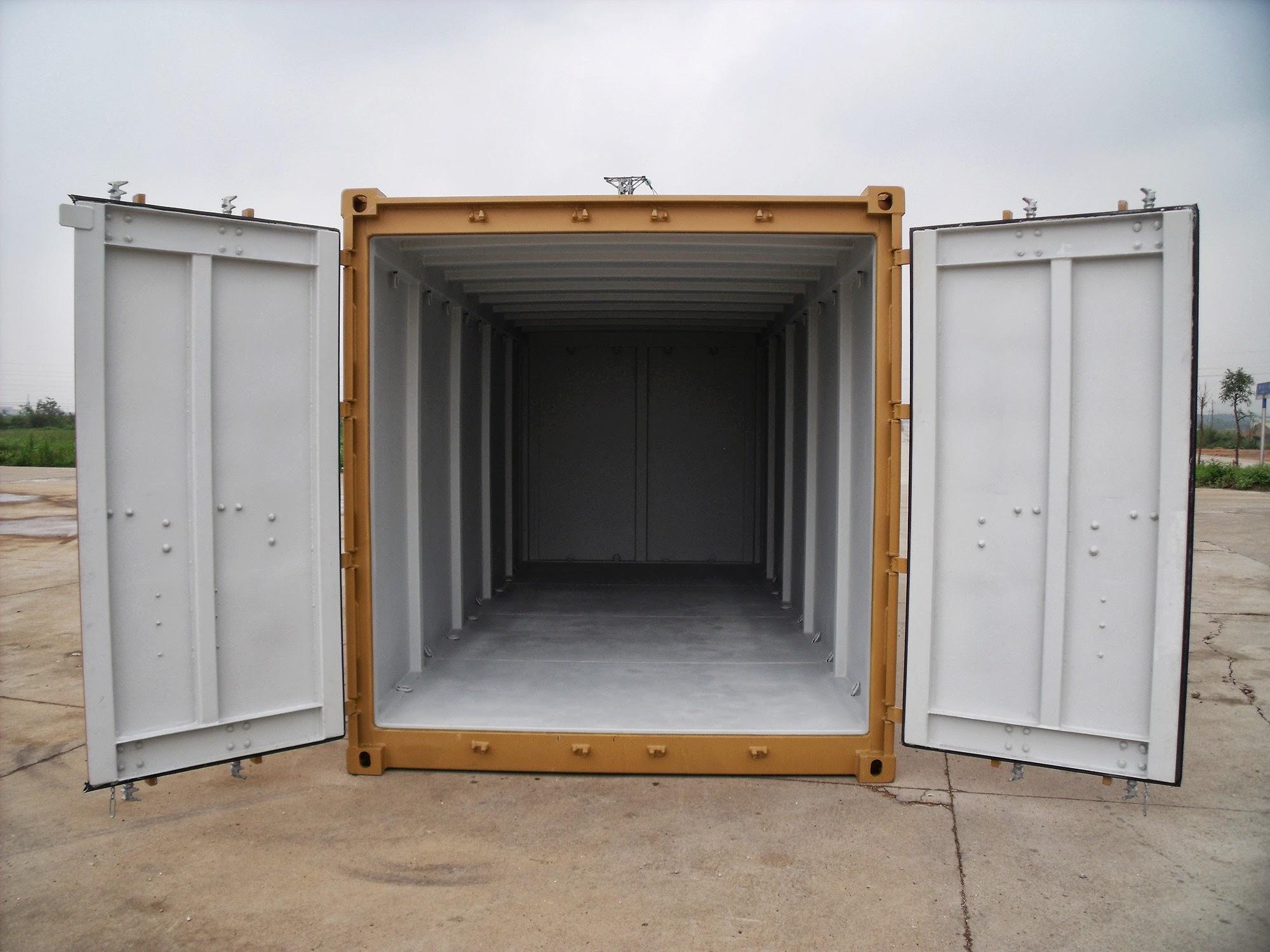 20ft 2.7-1, EN 12079 offshore container - Interior