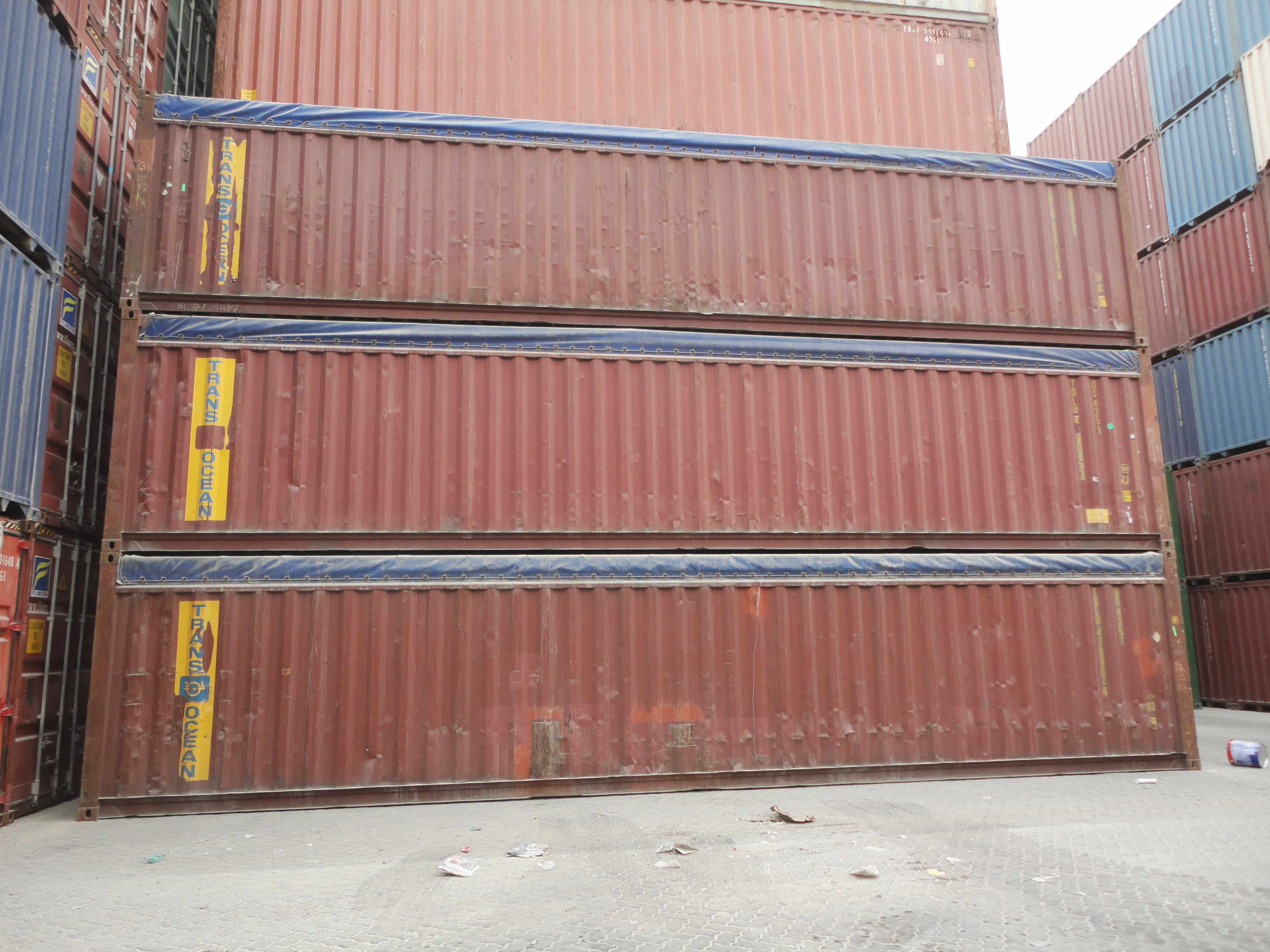 Special Type Container - 40ft OT Container